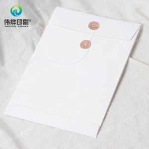Office Supply Paper Printing File Cover / Envelope (with Eyelet) pictures & photos