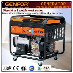GF11-Dawa Diesel 4 in 1 Mobile Work Machine for Generator, Welder, Battery Charger and Air Compressor pictures & photos
