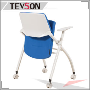 National Standard School Fabric Foldable Conference Room Chair pictures & photos