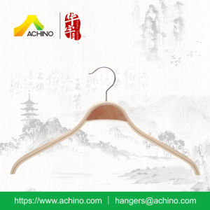 Wooden Laminated Non Slip Hangers for Kids pictures & photos
