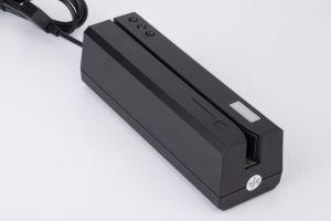Msr 606 3 Tracks USB Magnetic Card Reader Writer with Software Compatible Msr 206, Msr605 pictures & photos