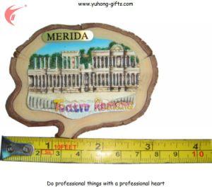 Factory Price Resin Tourist Souvenir Fridge Magnet Wholesale (YH-FM097) pictures & photos