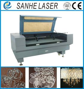 China 1000*960mm Automatic Feed Plastic Leather 100wco2 Laser Engraver Engraving Machine pictures & photos