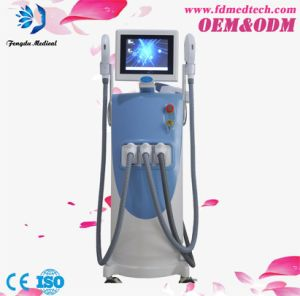 3 Handpieces Multifuctional Q Switched ND YAG Tattoo Removal Vascular Lesions Removal Laser Machine pictures & photos