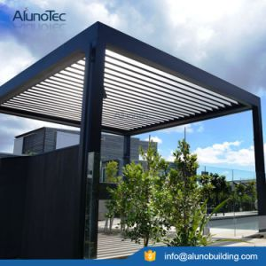 Vergola Opening Roof System Louvered Pergola Motorized Pergola Kits pictures & photos