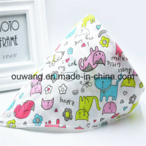 Cheap Wholesale Custom Logo Printed Cotton Bandana Bib pictures & photos