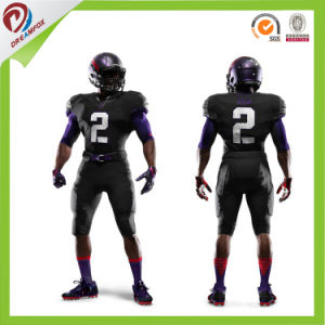 Sublimated American Football Uniform Team Set with Any Custom Design pictures & photos
