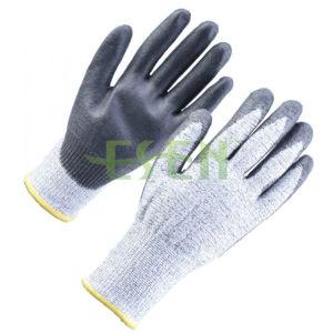 13gauge Black PU Coating / Safety Work / Anti Cutting Gloves pictures & photos