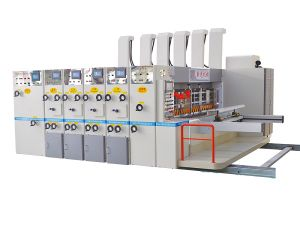 Carton Box Printing Machine - with Quality Electrical Components