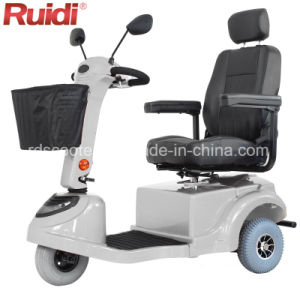 Three Wheels Electric Scooter Tricycle 400W Electric Handicapped Scooter pictures & photos