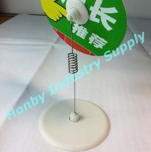 Display Pop Advertising Clip Stand with Spring Steel Wire