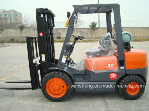 Widely Used 3.0t Gasoline/LPG Forklift Truck pictures & photos