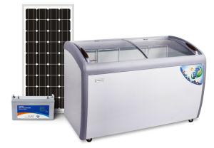 12 24V DC Solar Showcase, Solar Chest Freezer 260L pictures & photos