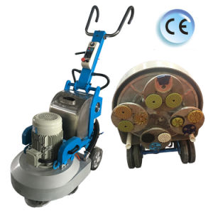 Ce Certificate Planet System Floor Polishing Machine with Magnetic Base Plate pictures & photos