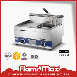 Factory Direct Hot Saling Commercial Gas Griddle with Gas Fryer pictures & photos