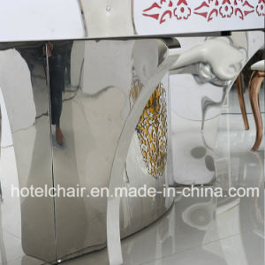 China Manufacturer Big Size Electric Rotate with Marble Dining Table for Hotel Engineering pictures & photos