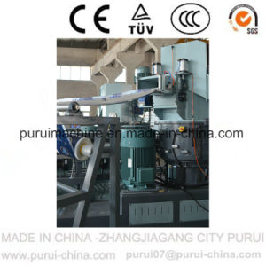 Three in One Plastic Waste Recycling Machine for Waste LDPE Film pictures & photos