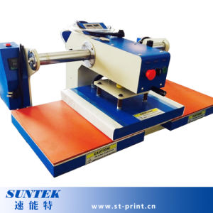 Sublimation Heat Transfer Machine with Double Station Semi-Automatic pneumatic pictures & photos