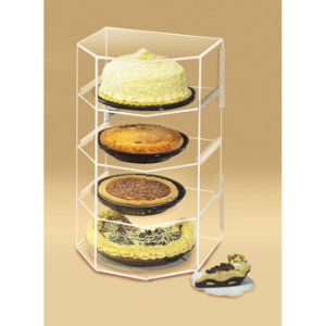 Store Acrylic Display for Cakes, Retail Acrylic Display Shelf pictures & photos