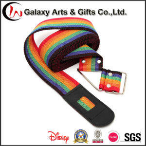 Durable Rainbow Luggage Cross Strap with Metal Clasp/ Travel Baggage Belt pictures & photos