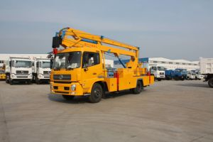 Dongfeng Aerial Work Truck 18m Boom Lift Fold Arm Type pictures & photos