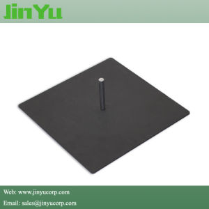 Heavy Weight Metal Flat Base for Teardrop Flag pictures & photos