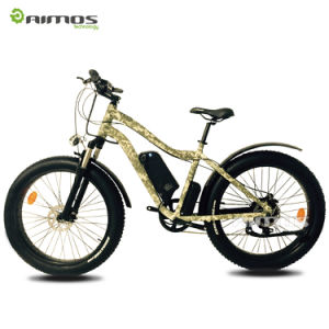 26*4.0 1000W Big Power Fat Tire Electric Mountain Bike pictures & photos