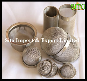 Sintered Wire Mesh / Perforated Metal Filter Cap pictures & photos