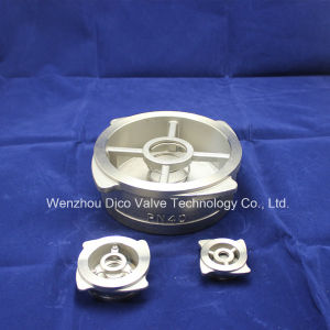 API Stainless Steel Non Retuen Valve/Wafer Check Valve pictures & photos