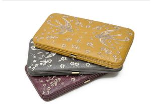 Embroidery Fashion Women Frame Wallet pictures & photos