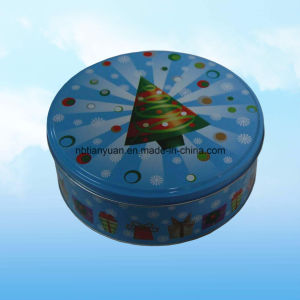 Fashion Circular Arc Portable Tin Can pictures & photos