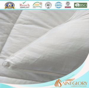 100% Cotton Cover Hollow Fiber Polyester Filling Cushion Pillow pictures & photos