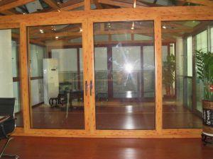Latest Design Wooden Aluminuim Door pictures & photos