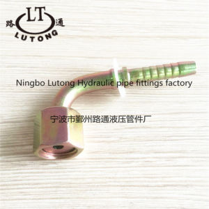90 Elbow Metric Female Hydraulic Hose Pipe Fittings pictures & photos