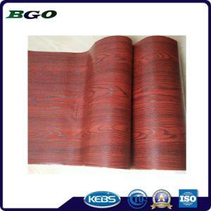 Decorative Foil Mahogany Wood Grain Furniture Foil pictures & photos