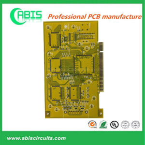 Yellow Ink Multilayer PCB Panel pictures & photos