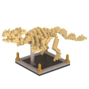 14889345-Micro Block Kit Fossil Dinosaur Series Blocks Set Creative Educational DIY Toy 390PCS - Triceratops pictures & photos