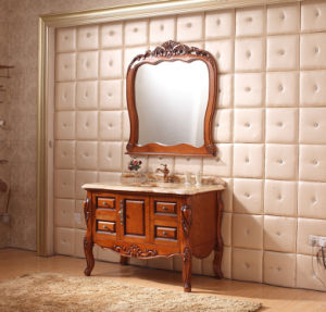 Sanitary Ware Bathroom Cabinet with European Archaize Series (6111) pictures & photos