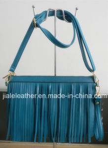 Cross body bag with fancy trim WT0041-3