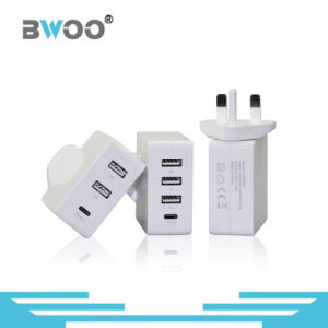 Portable USB Wall Charger with UK/EU/Us Plugs pictures & photos