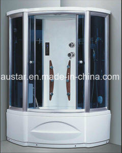 1230mm Sector Steam Sauna with Jacuzzi and Shower (AT-G8208-1) pictures & photos