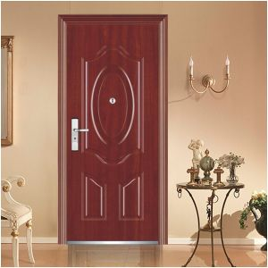 China Professional Manufacturer Design Steel Security Door, Steel Door pictures & photos