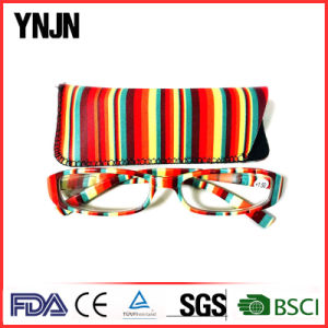 Ynjn Own Design 13 Colors Unisex Reading Glasses with Case pictures & photos