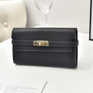 Clutch Women Wallet Modern Style Low Price Classical Ladies Wallets Sy7650 pictures & photos