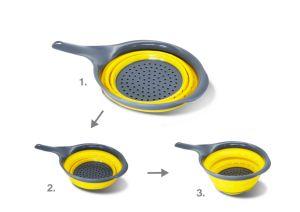 Folding Item Collapsible Dish Rack Kitchenware LFGB Standard