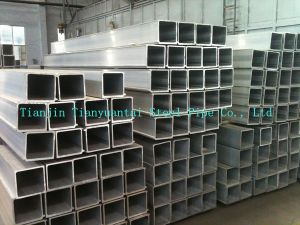 Wholesale 304 Welded Square Thick Stainless Steel Pipe pictures & photos