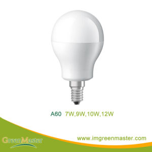 A60 12W Plastic Aluminum LED Bulb pictures & photos