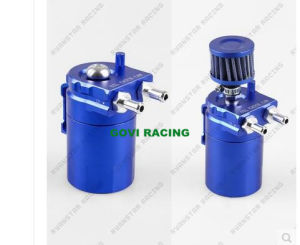 Polished Baffled Universal Aluminum Oil Catch Can Reservior Tank Radiator pictures & photos