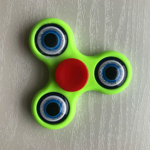 Good Quality Hand Finger Fidget Spinner Toys with Eyes Design pictures & photos