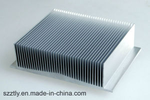 Anodizing Alunimum/Aluminimum Extrusion Alloy Profile Heatsink/Radiator for Industrial Machinery pictures & photos